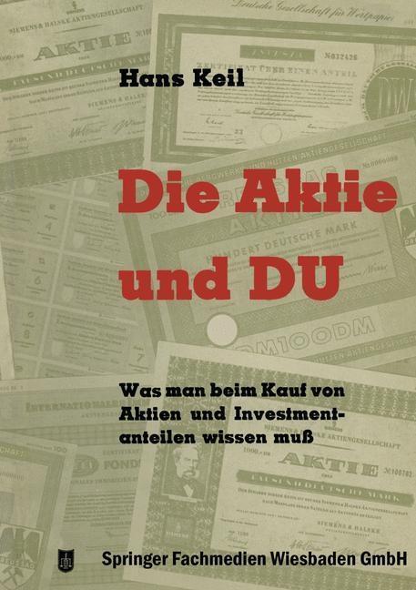 Die Aktie und Du als eBook Download von Hans Keil