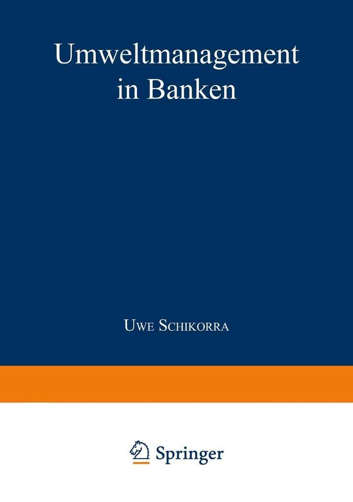 Umweltmanagement in Banken als eBook Download von