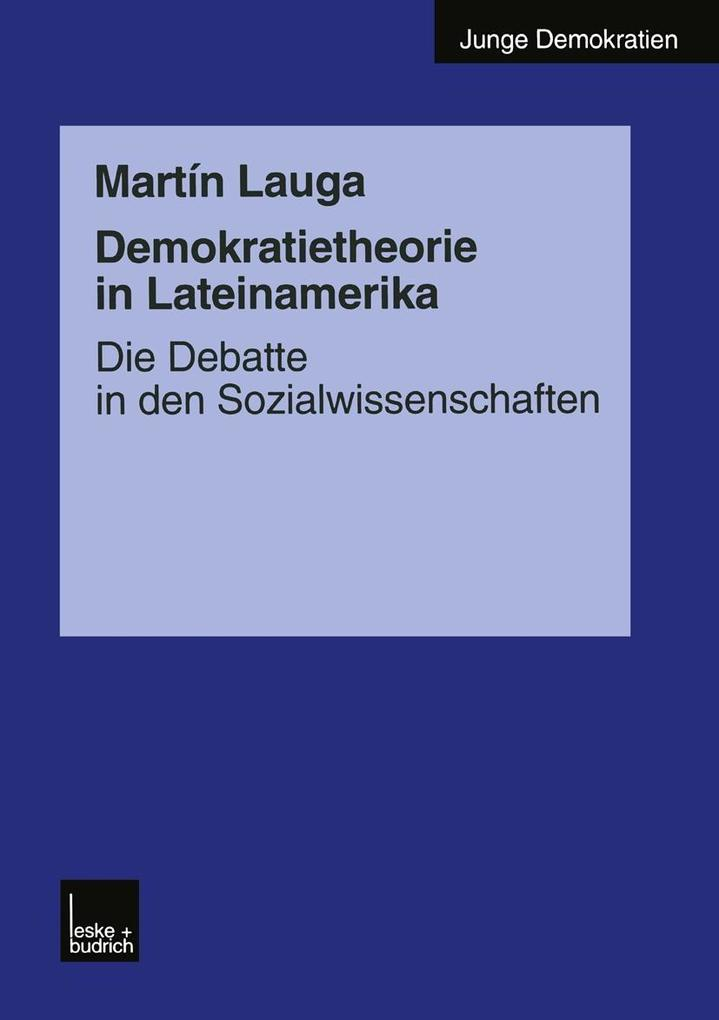 Demokratietheorie in Lateinamerika als eBook Do...