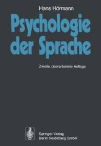 Psychologie der Sprache als eBook Download von ...