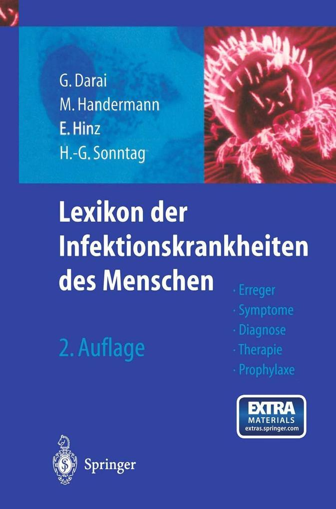 Lexikon der Infektionskrankheiten des Menschen ...
