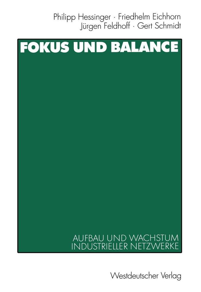 Fokus und Balance als eBook Download von Friedh...