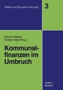 Kommunalfinanzen im Umbruch als eBook Download von