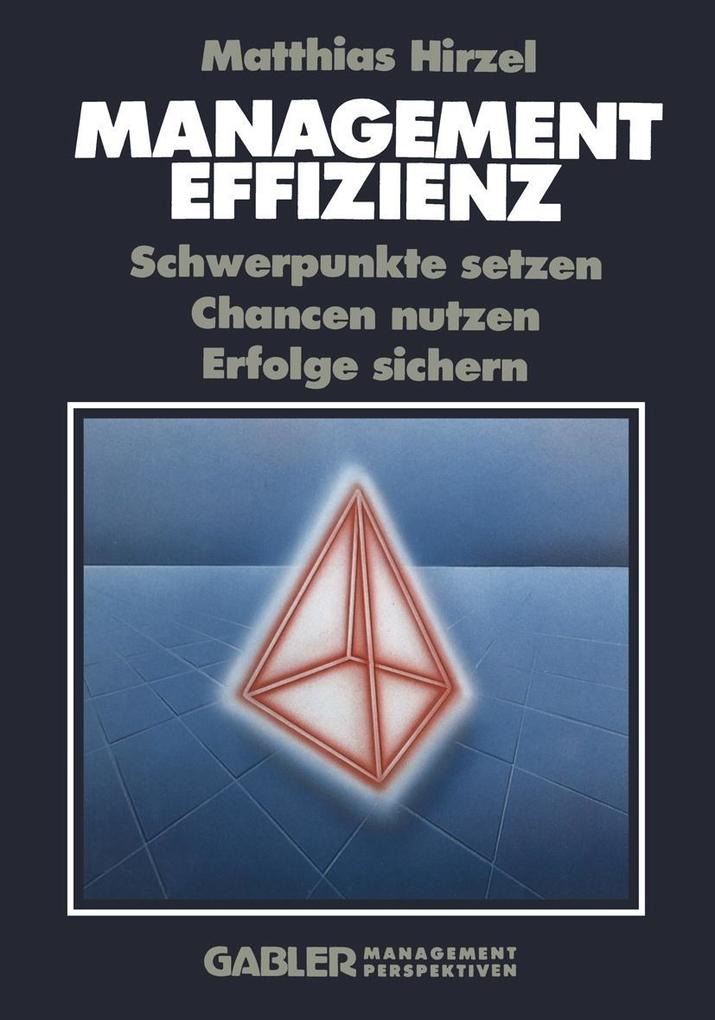 Management Effizienz als eBook Download von Mat...
