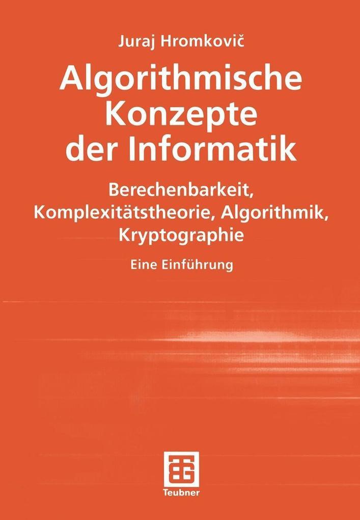 Algorithmische Konzepte der Informatik als eBoo...