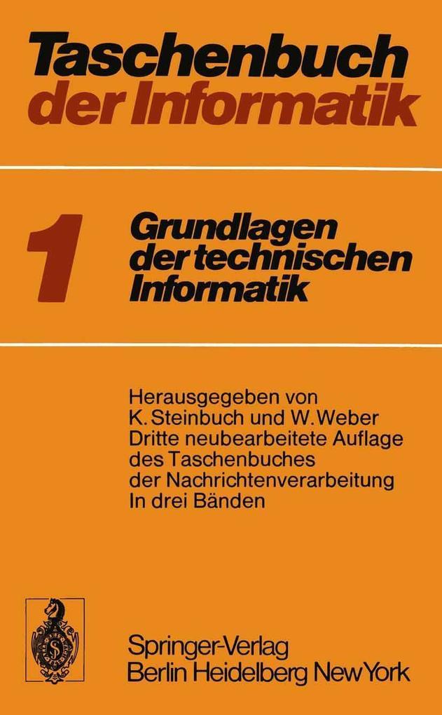 Taschenbuch der Informatik als eBook Download von