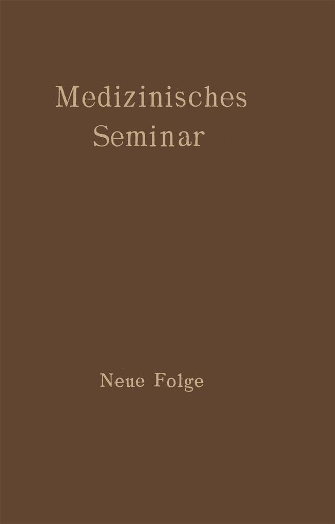 Medizinisches Seminar als eBook Download von