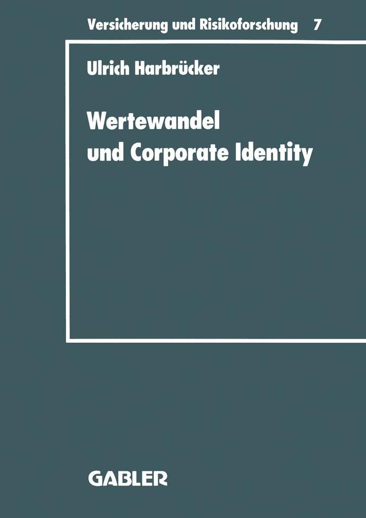 Wertewandel und Corporate Identity als eBook Do...