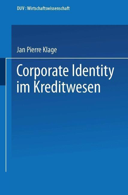 Corporate Identity im Kreditwesen als eBook Dow...