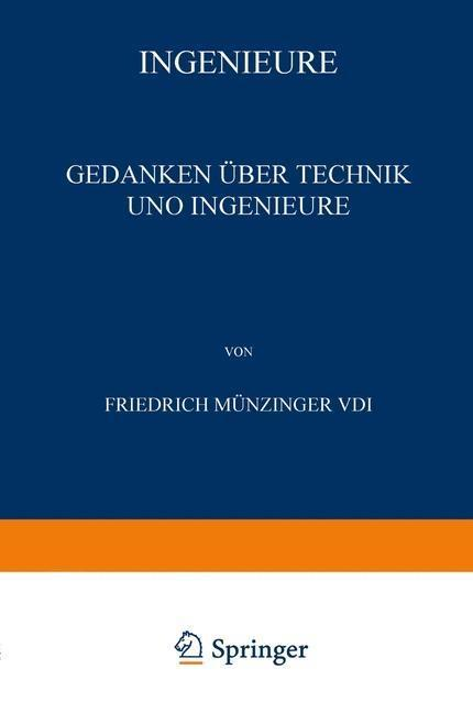 Ingenieure als eBook Download von Friedrich Mun...