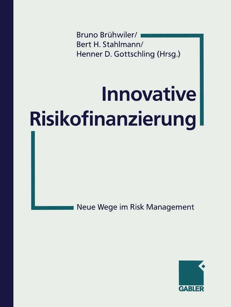 Innovative Risikofinanzierung als eBook Downloa...