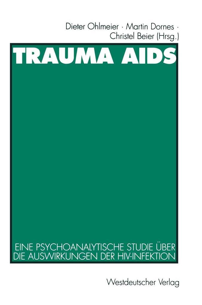 Trauma AIDS als eBook Download von