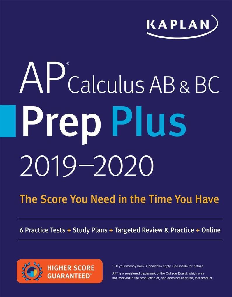 AP Calculus AB & BC Prep Plus 2019-2020 als eBo...