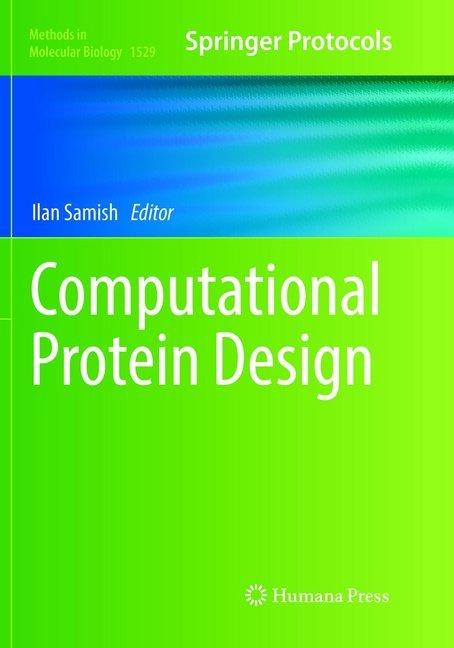 Computational Protein Design als Buch von