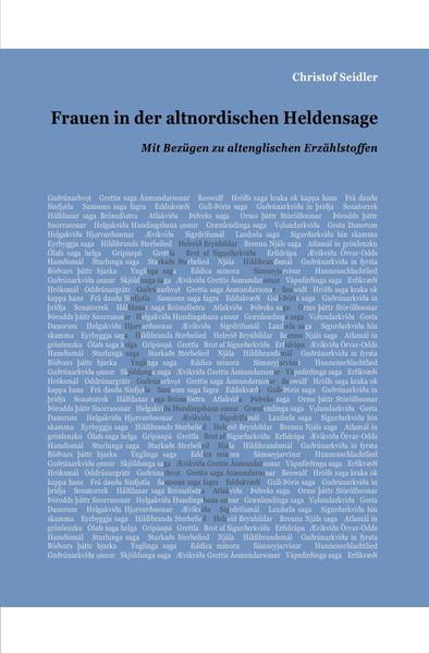 Frauen in der altnordischen Heldensage als Buch