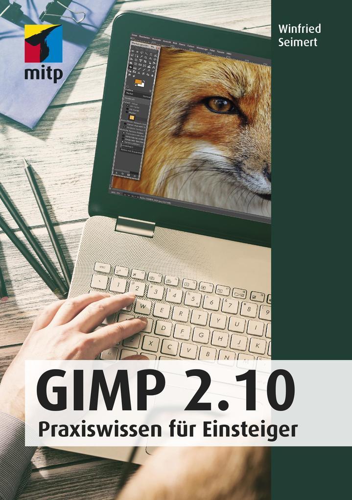 GIMP 2.10 als Buch