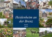 Heidenheim an der Brenz (Wandkalender 2019 DIN A4 quer)