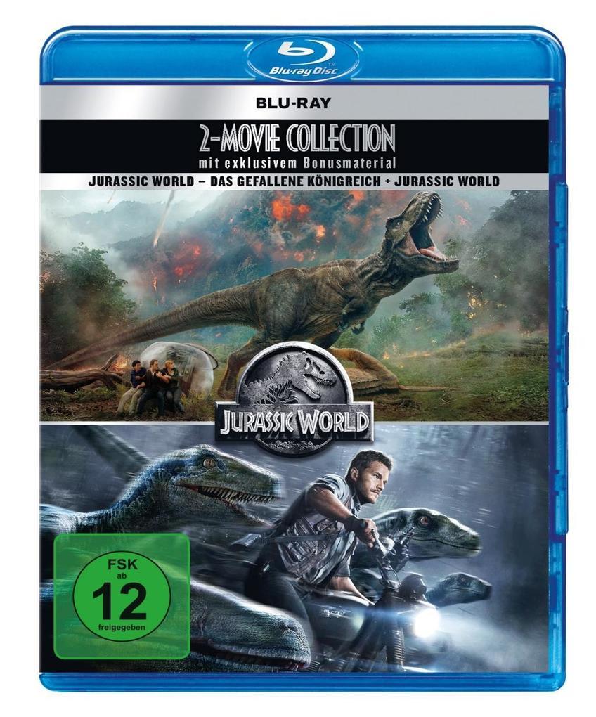 Jurassic World: 2 Movie Collection als DVD