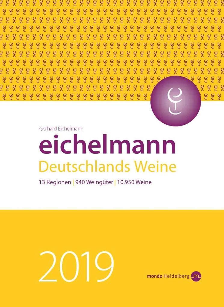 Eichelmann 2019 Deutschlands Weine als Buch