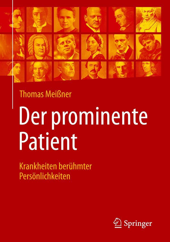 Der prominente Patient als Buch