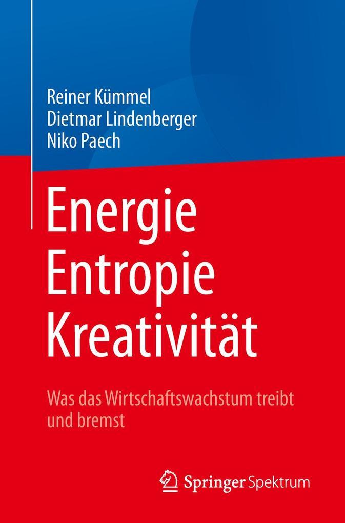 Energie, Entropie, Kreativität als Buch