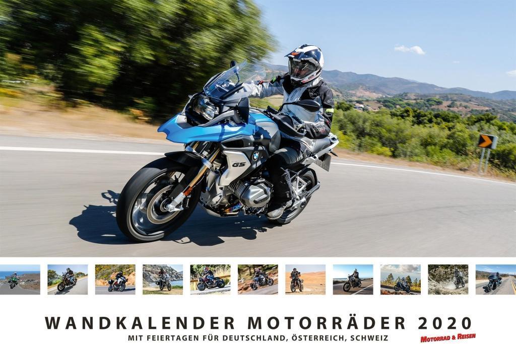Foto-Wandkalender Motorräder 2019 - DIN A3 quer...