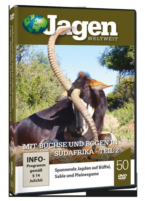 Mit Büchse und Bogen in Südafrika Teil 2 - JAGEN WELTWEIT DVD Nr. 50 als DVD