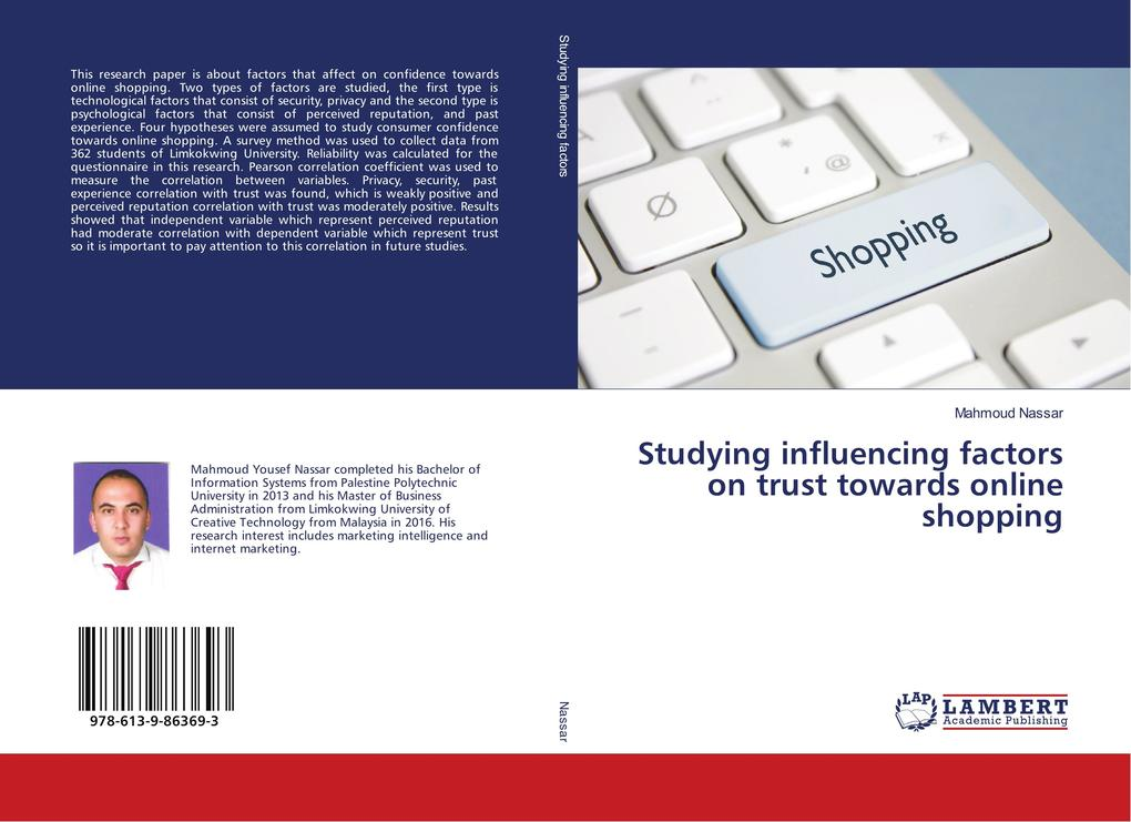 Studying influencing factors on trust towards o...