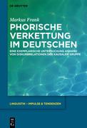 Phorische Verkettung im Deutschen
