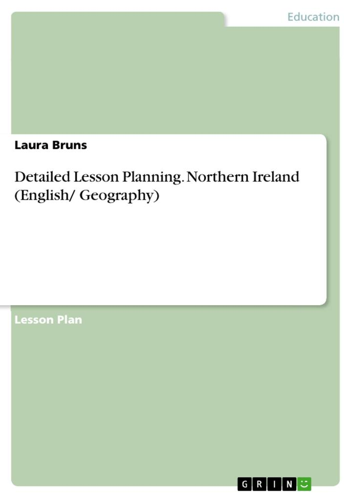 Detailed Lesson Planning. Northern Ireland (Eng...