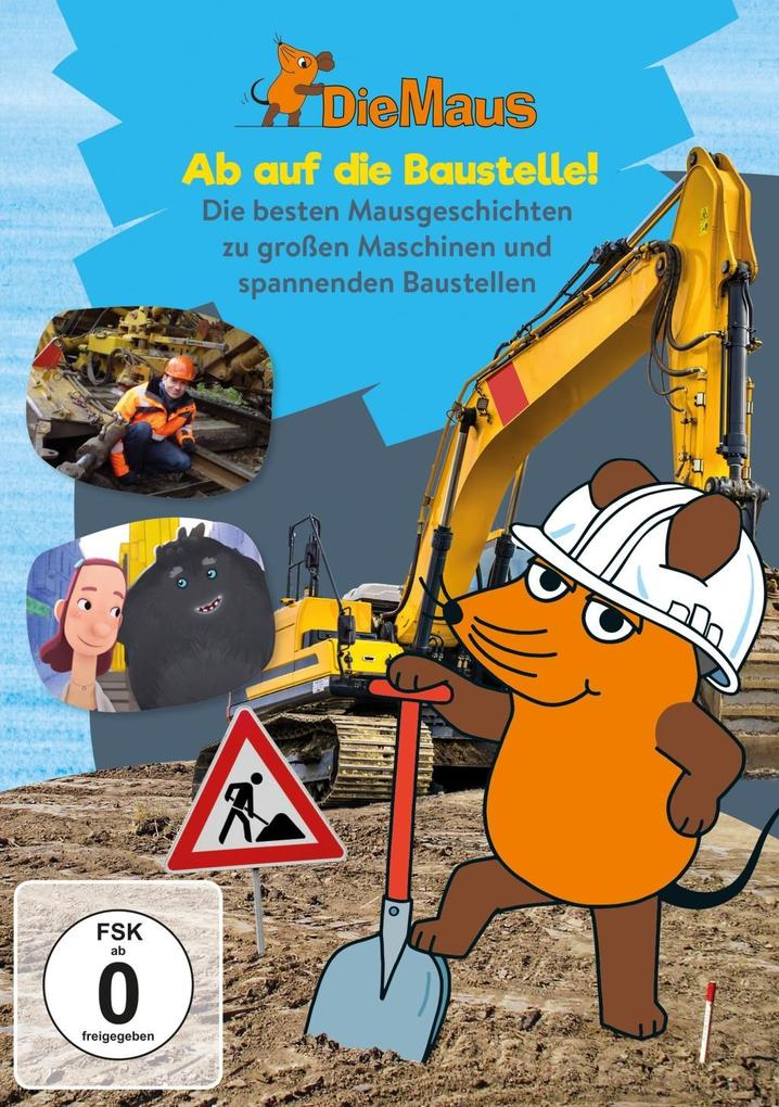 Die Sendung mit der Maus - Ab auf die Baustelle als DVD