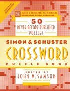 Simon & Schuster Crossword Puzzle Book: 50 Never-Before-Published Puzzles