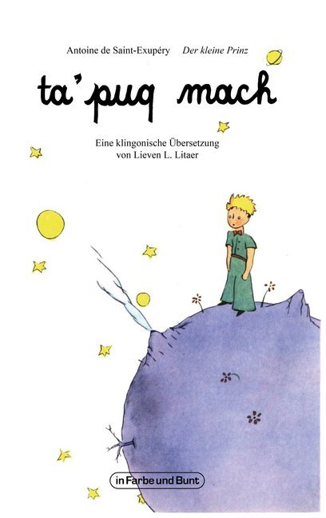 ta'puq mach - Der kleine Prinz als Taschenbuch