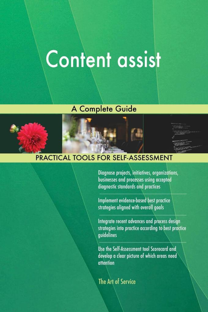 Content assist A Complete Guide als eBook Downl...