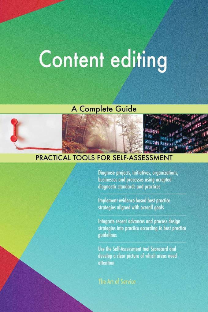 Content editing A Complete Guide als eBook Down...