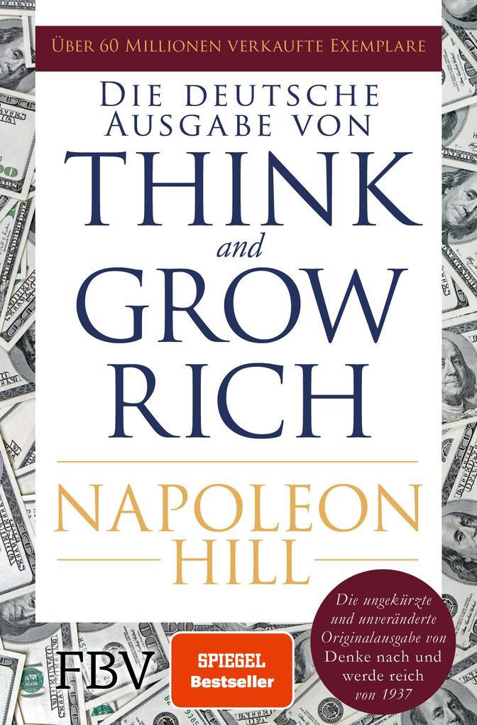 Think and Grow Rich - Deutsche Ausgabe als Taschenbuch