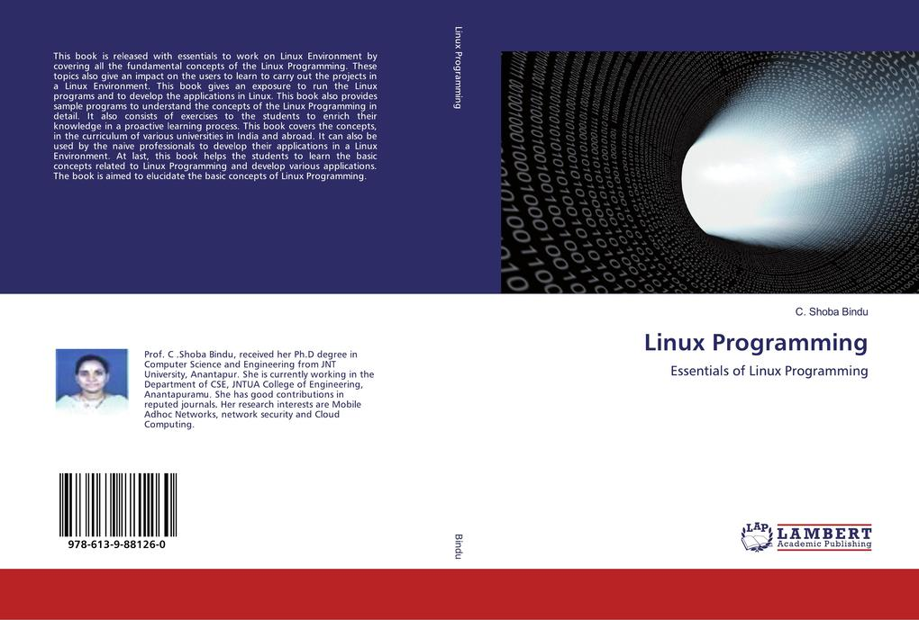 Linux Programming als Buch von C. Shoba Bindu