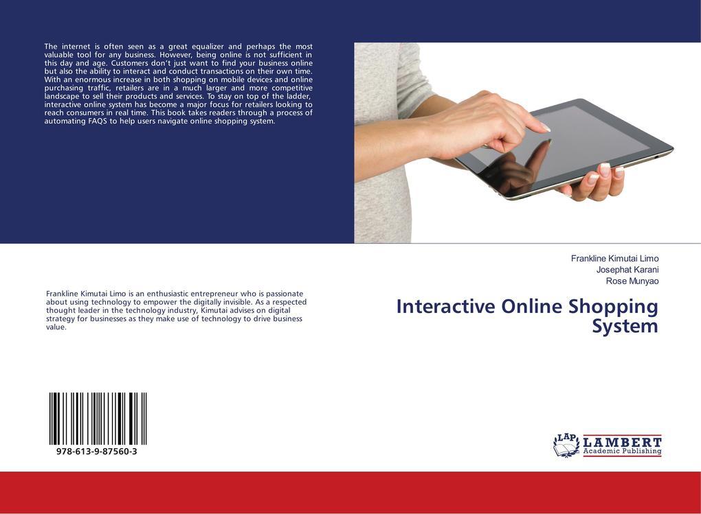 Interactive Online Shopping System als Buch von...