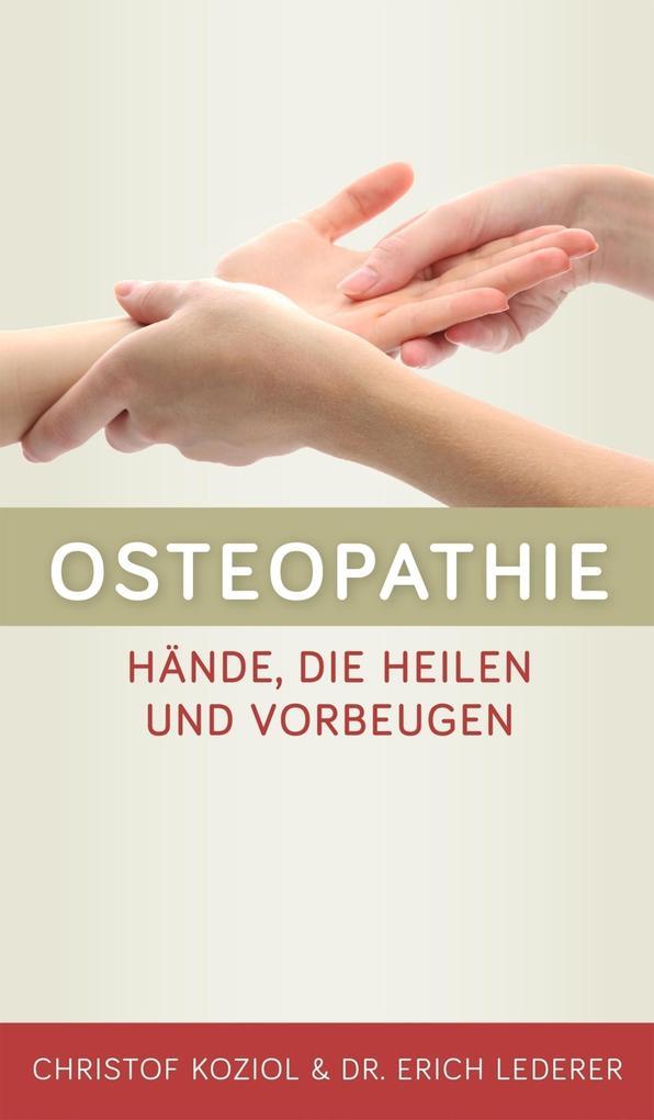 Osteopathie als eBook Download von Christof Koz...