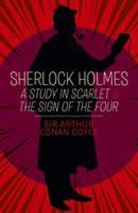 Sherlock Holmes: A Study in Scarlet & The Sign of the Four als Taschenbuch