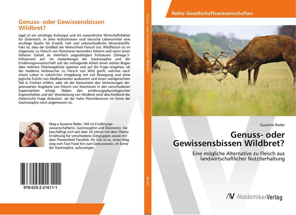 Genuss- oder Gewissensbissen Wildbret? als Buch...
