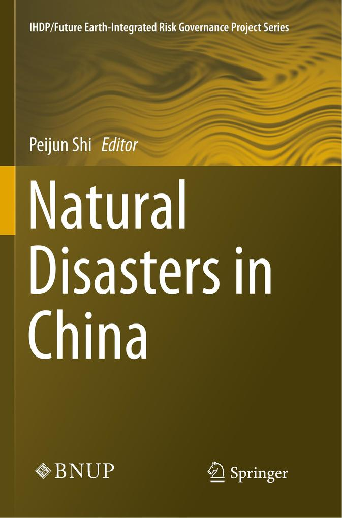 Natural Disasters in China als Buch von