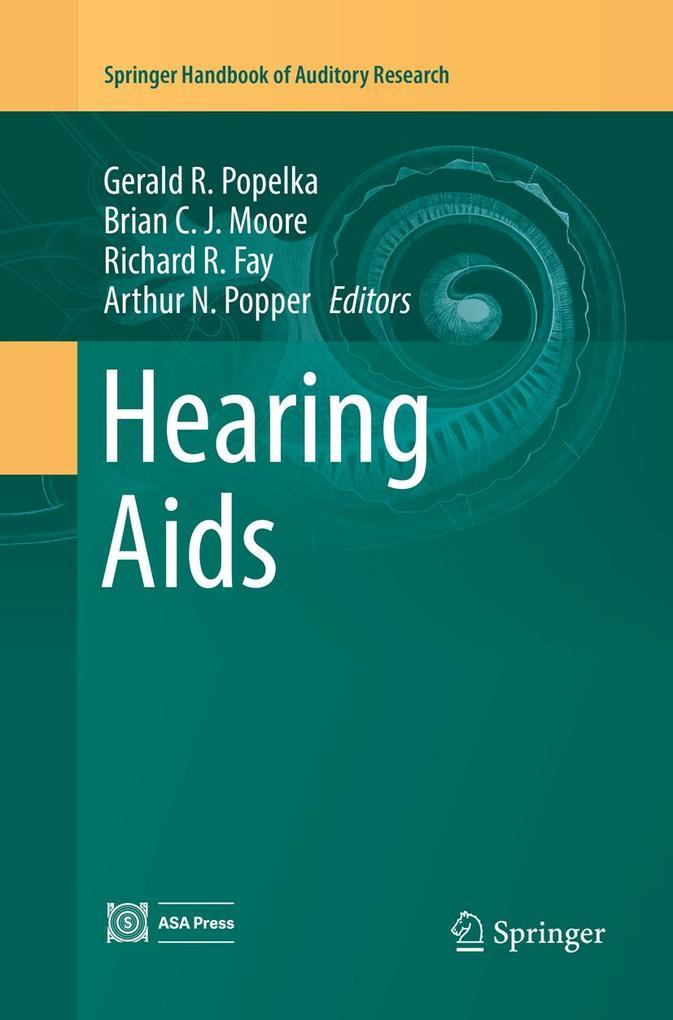 Hearing Aids als Buch von