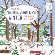 Vicky Bo's Ein-Bild-Wimmelbuch für Kinder ab 1 Jahr - Winter