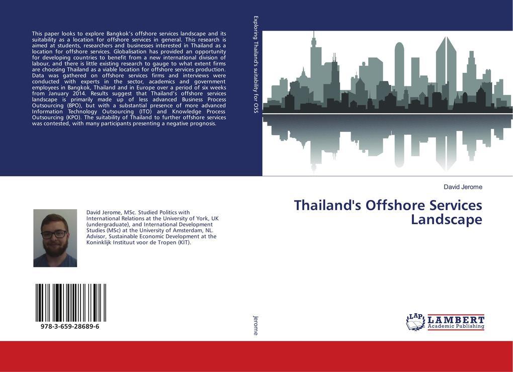 Thailand´s Offshore Services Landscape als Buch...