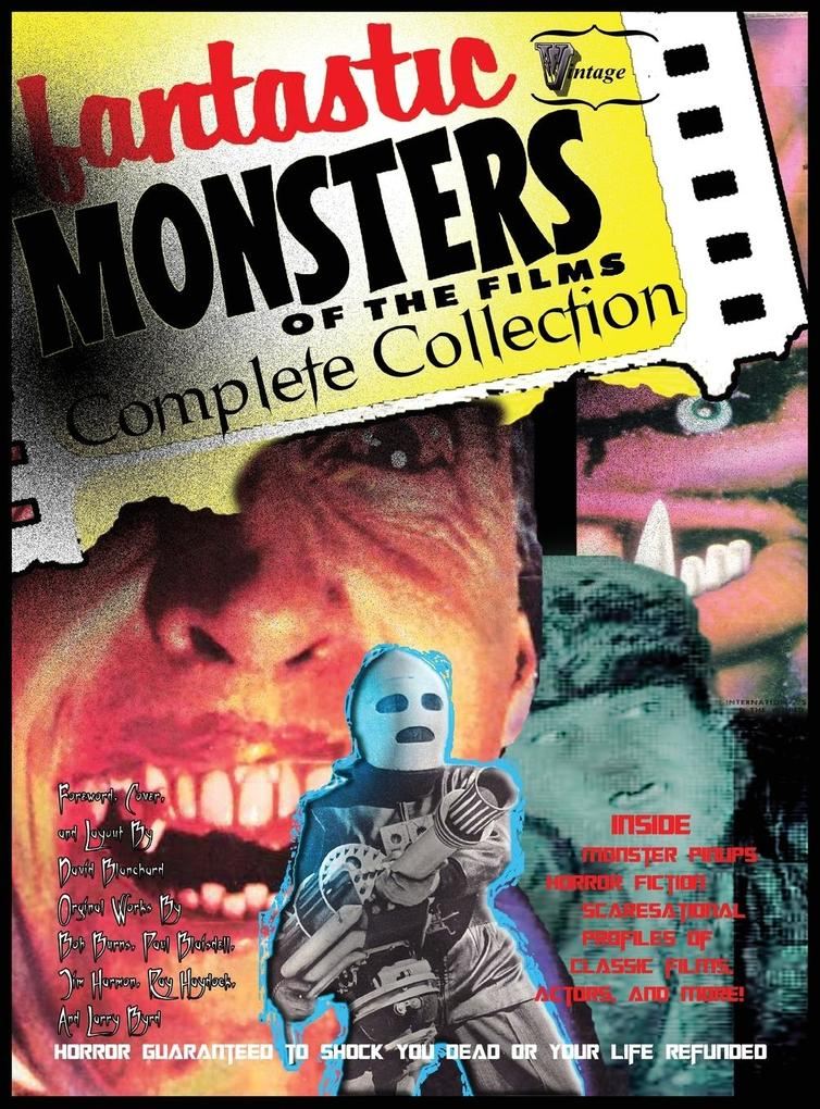 Fantastic Monsters of the Films Complete Collec...