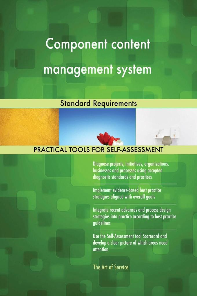 Component content management system Standard Re...