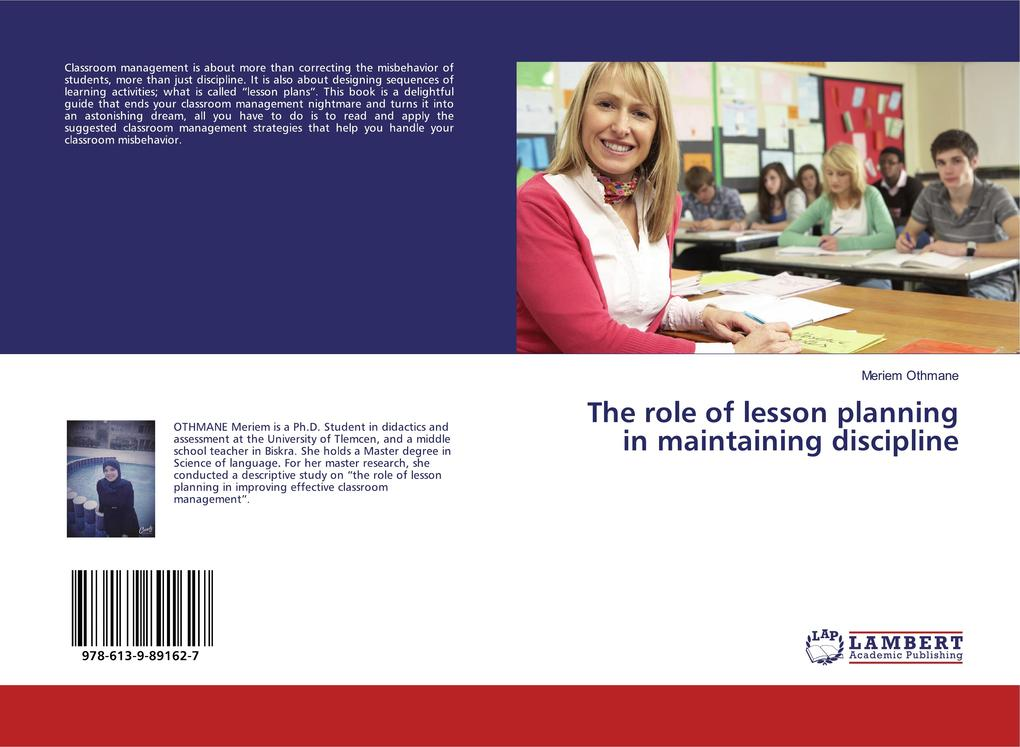 The role of lesson planning in maintaining disc...