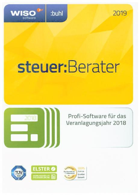 WISO steuer:Berater 2019, 1 CD-ROM als Software