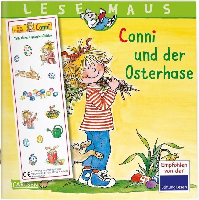 LESEMAUS 77: Conni und der Osterhase als Buch